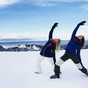 Yoga & Skiën in Italie 1