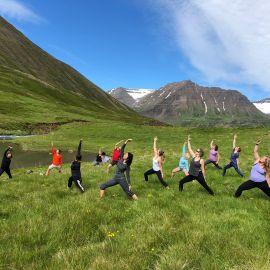 Yoga op IJsland 5