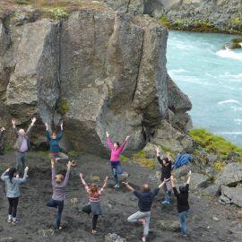 Yoga op IJsland 12