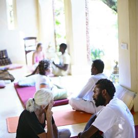 Yoga & Adem op Lamu 8
