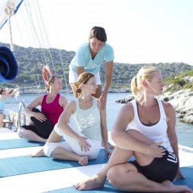 Yogacruise in Turkije 5