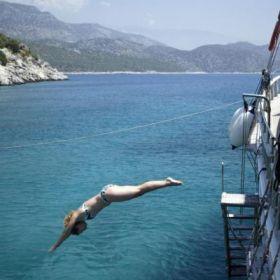 Yogacruise in Turkije 12