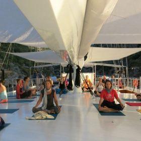 Yogacruise in Turkije 14